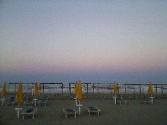 Sunset in Marina di Ravenna