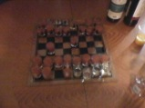 Drinking chess, of course the idea of an Erasmus student.